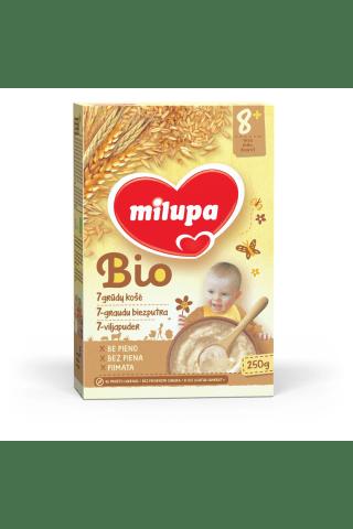 7 grūdų košė MILUPA BIO, nuo 6 mėn., 250 g