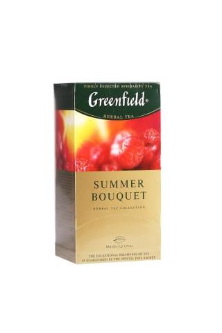 Žolelių arbata GREENFIELD SUMMER BOUQUET, 25 pak.