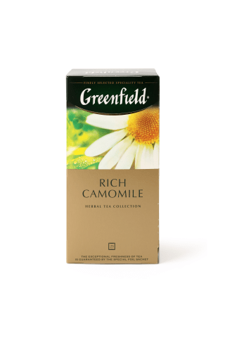 Zāļu tēja Greenfield kumelīšu 25tm 38g