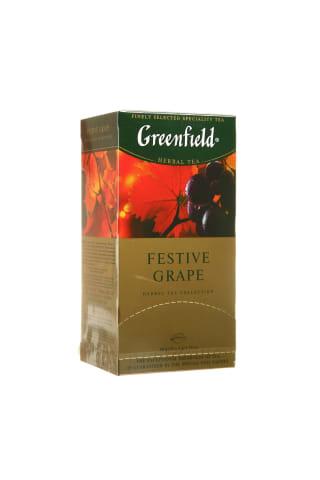 Žolelių arbata GREENFIELD FESTIVE GRAPE, 20 pak.