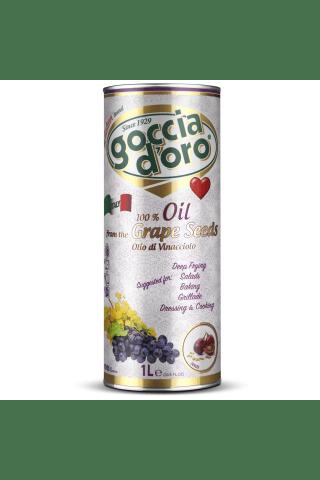 Vīnogu kauliņu eļļa Goccia D`Oro 1l