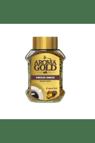 Šķīstošā kafija Aroma gold 100g