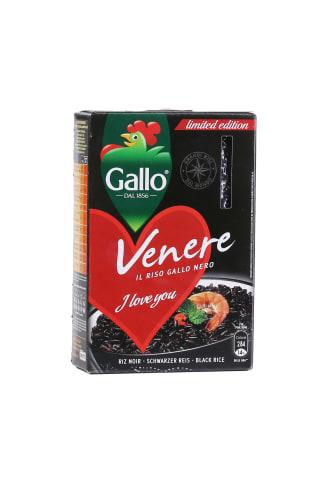 Rīsi Gallo Venere melnie 500g