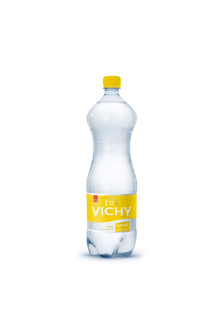 Citrinų skonio stalo vanduo VICHY Classique, 1,5 l