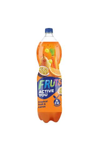 Sulas dzēriens Fruts tropisko augļu un burkānu 1.5l