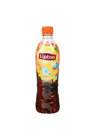 Gaivusis gėrimas LIPTON PEACH, 0,5 l