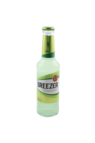 Alkoholiskais kokteilis Bacardi Breezer lime 4% 0.275l
