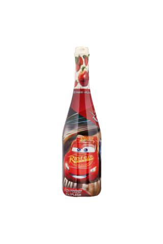 Nealkoholinis gazuotas gaivusis gėrimas su braškių sultimis DISNEY CARS, 750 ml