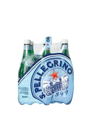 Min.lūdens S.Pellegrino gāzēts 1L*6gab