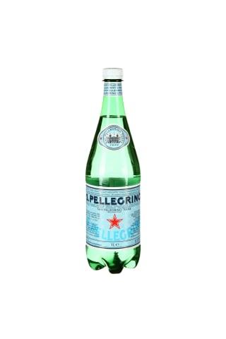 Gazuotas natūralus mineralinis vanduo S.PELLEGRINO, 1 l