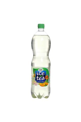 Ledus tēja Cido ar zaļās tējas ekstraktu un persiku garšu 1.5l