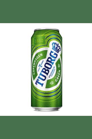 Alus Tuborg 4.6% 0.5l skārdene