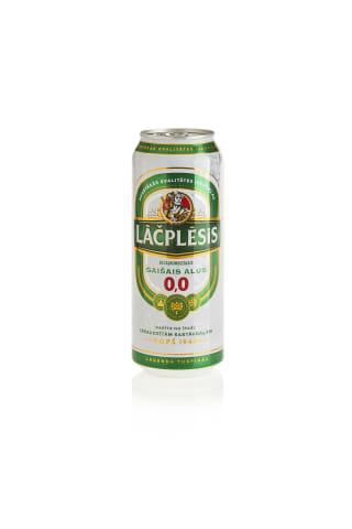 Bezalkaholiskais alus Lāčplēsis can 0.5l