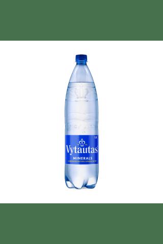 Gazuotas natūralus mineralinis vanduo VYTAUTAS, 1,5 l