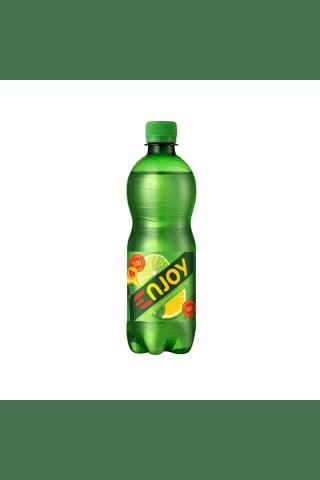 Gāzēts dzēriens Enjoy citr./laim/piparm. pet 0.5l