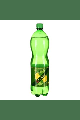 Gazuotas nealkoholinis gėrimas njoy citrinų-žalių citrinų skonio 1,5l pet