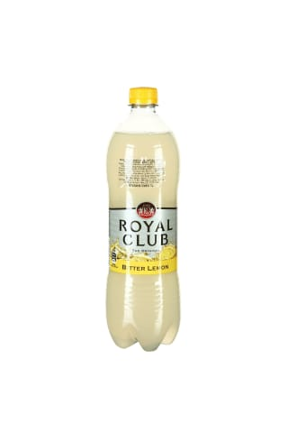 Gazuotas aromatizuotas karčiųjų citrinų skonio gėrimas ROYAL CLUB Bitter LEMON, 1 l