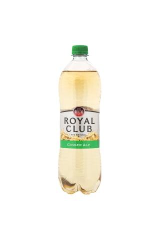 Gāzēts dzēriens Royal Club Ginger Ale pet 1l