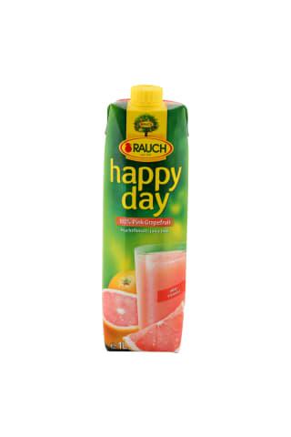 Sultys happy day rausvųjų greipfrutų 100% 1l