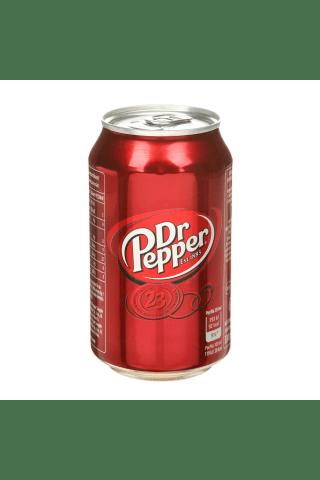 Gazuotas gėrimas Dr. pepper, 0,33l