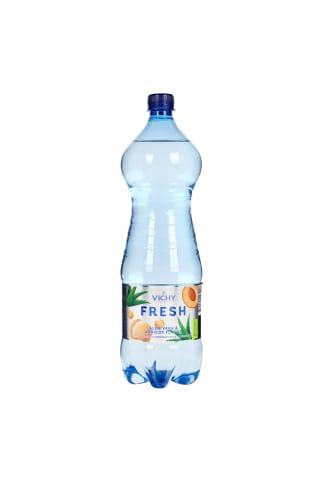 Alavijų ir abrikosų gėrimas VICHY FRESH, 1,5 l