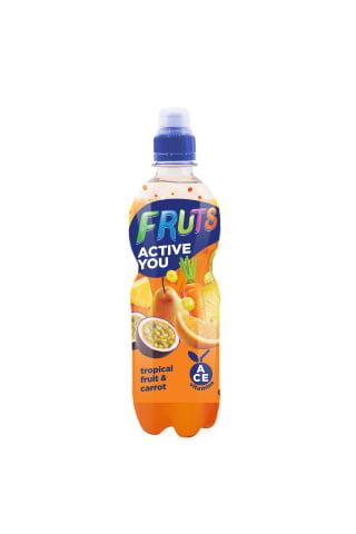 Dzēriens burkānu-tropu augļu Fruts 0,5L
