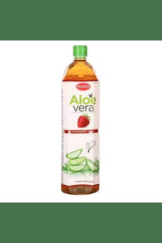 Braškių skonio alavijų gėrimas ALEO, 1,5 l
