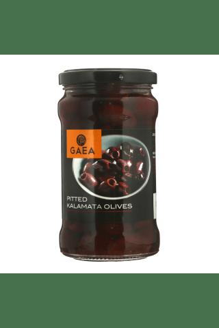 Kalamata olīvas Gaea šķidrumā bez kauliņiem 300g