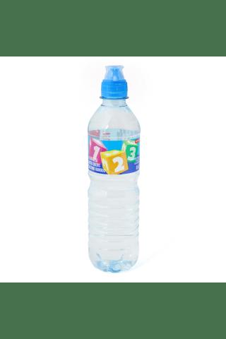 Negazuotas šaltinio vanduo RIMI KIDS, 0,5 l