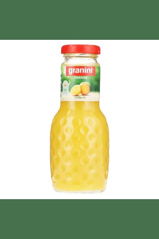 Granini Sula Apelsīnu Ar Augļu Mīkstumiem, 100%, 0,25Ltr