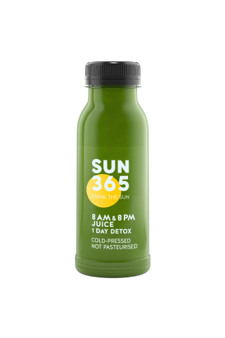 Žaliasis kokteilis SUN365, 250ml
