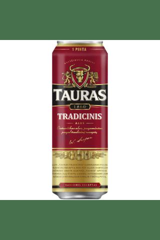 Alus TAURAS Tradicinis, 6%, 0,568l