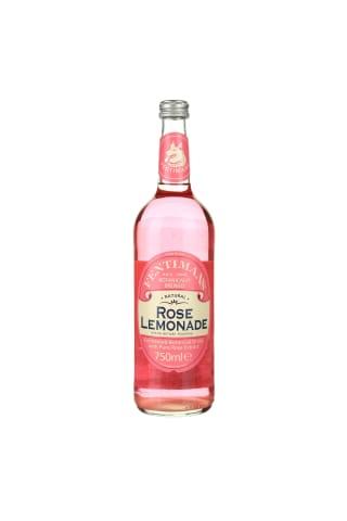 Gazuotas aromatizuotas gaivusis gėrimas FENTIMANS ROSE LEMONADE, 0,75 l