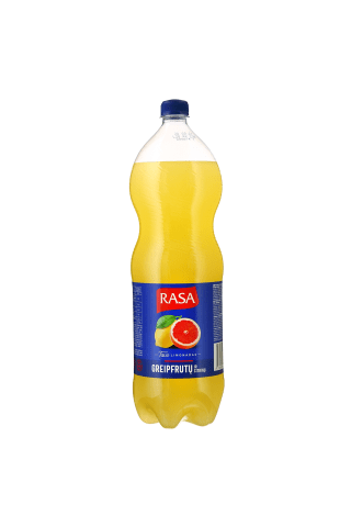 Citrinų-greipfrutų gazuotas gėrimas RASA, 2 l