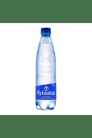 Gazuotas natūralus mineralinis vanduo VYTAUTAS, 0,5 l