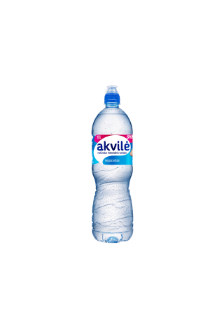 Natūralus mineralinis vanduo AKVILĖ Sport, 1 l