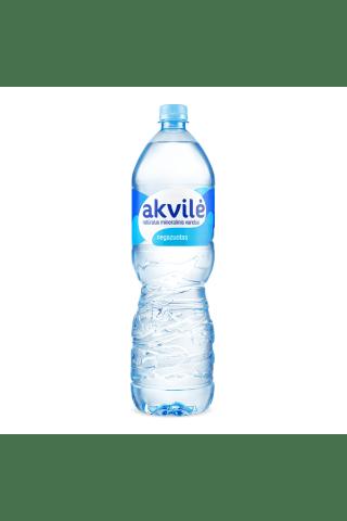 Natūralus negazuotas mineralinis vanduo AKVILĖ 1,5 l