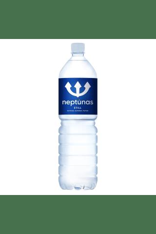 Negazuotas mineralinis vanduo NEPTŪNAS, 1,5 l