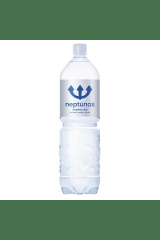 Švelniai gazuotas natūralus mineralinis vanduo NEPTŪNAS, 1,5 l