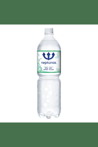 Švelniai gazuotas mėtų skonio stalo vanduo NEPTŪNAS MINT, 1,5 l