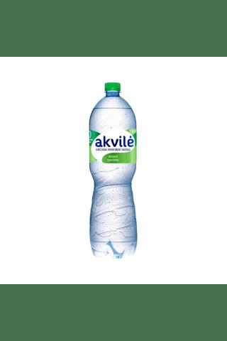 Lengvai gazuotas natūralus mineralinis vanduo AKVILĖ, 1,5 l