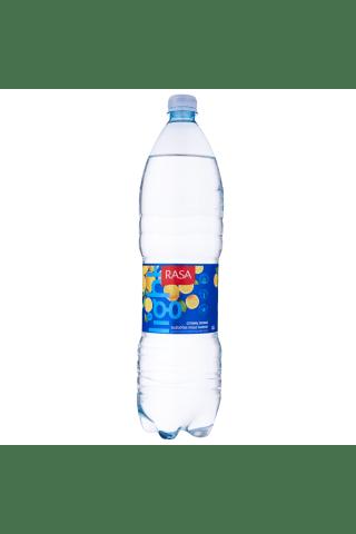 Citrinų skonio gazuotas stalo vanduo RASA  LIGHT MINERALS, 1,5 l