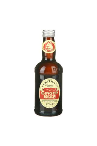 Gazuotas aromatizuotas gaivusis gėrimas FENTIMANS GINGER BEER, 0,275 l