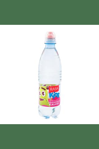 Negazuotas stalo vanduo su kalciu RASA KIDS, 0,5 l