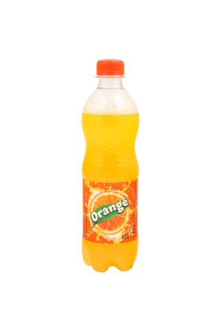 Gazuotas apelsinų skonio gėrimas RIMI 0,5 l