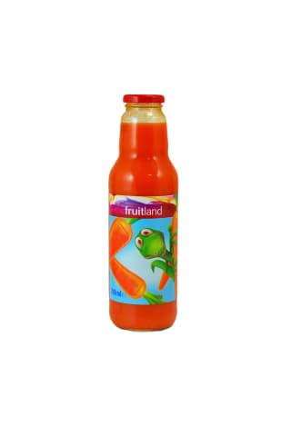 Morkų nektaras FRUITLAND 0,75 l