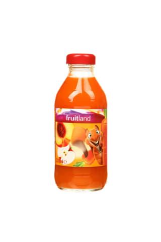 Morkų, obuolių, persikų nektaras FRUITLAND, 0,33 l