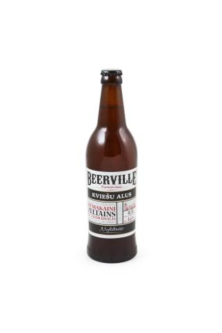 Alus Beerville kviešu 4,6% 0,5l
