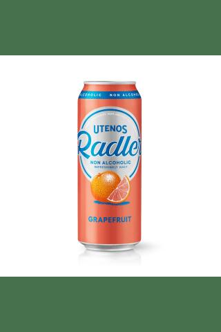 Alus UTENOS GRAPEFRUIT nealkoholinis,0,5 l can