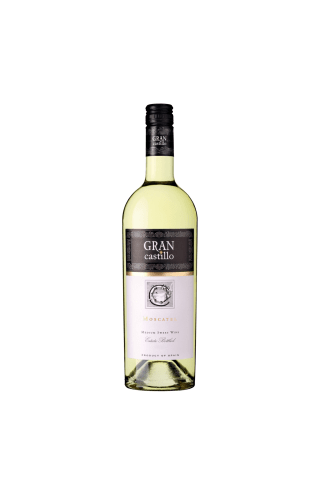 Baltvīns Gran Castillo Moscatell pussaldais 11,5% 0,75l